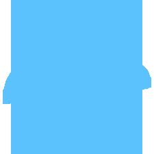 Niebieskie logo Promo Nadruk