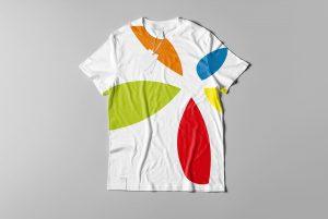 Koszulka z dużym logo promonadruk.pl